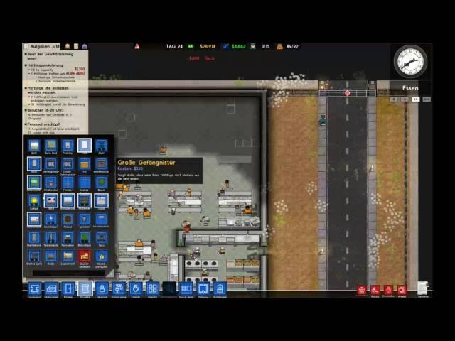 Let's Play Prison Architect | Wie sieht denn die Kantine aus ?? | Folge #018