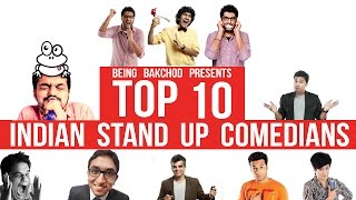 Top 10 Indian Stand-Up Comedians 2014 (Part 1 )