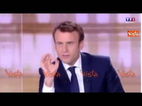 """Duello TV Macron contro Le Pen, il leader centrista: """"Marine indegna, la Francia merita di più"""""""