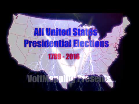 U.S. Presidential Elections (1789-2016)