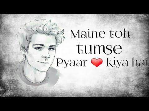 Maine toh tumse  pyaar 💑kiya hai || love story of a soldier