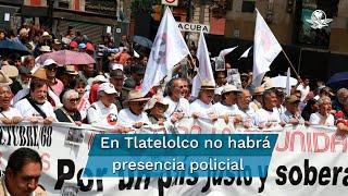 La jefa de gobierno de la Ciudad de México, Claudia Sheinbaum Pardo, informó que se desplegará un operativo para las movilizaciones que se realizarán en conmemoración de la matanza del 2 de octubre