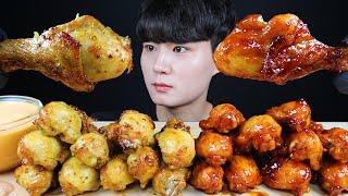 굽네 볼케이노 치킨 먹방ASMR MUKBANG Spic…