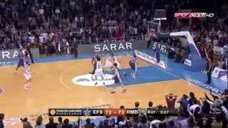 Anadolu Efes 75 - 72 Real Madrid Matt Janning'in Son Saniye Basketi - Matt Janning'in son saniyede attığı 3 sayılık basketi Anadolu Efesi umutlandırdı.