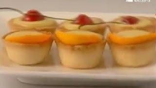 Lemon Curd Tarts - Sanjeev Kapoor - Khana Khazana