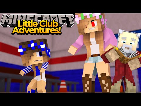 Minecraft Little club Adventures - Little Carly's NIGHTMARE!!!