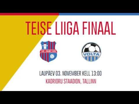 1fc440f0cc8 2018 Teise liiga finaal Paide LM III - Põhja-Tallinna JK Volta 4:0
