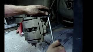 замена передних тормозных колодок ВАЗ 2108,2110,2170,калина