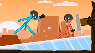 Slapstick Fighter - Stickman Ragdoll Fighting Game- All Levels Gameplay (iOS) Levels 9-12 screenshot 5