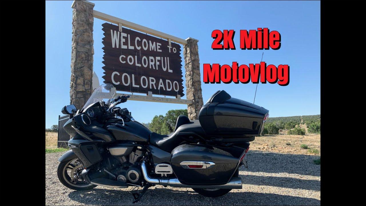 2K Mile MotoVlog - CO to CA & Back!