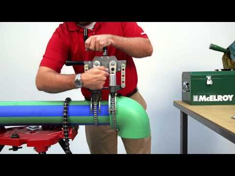 "How to Fuse 4"" PP-R Pipe using the McElroy® Spider™ 125"