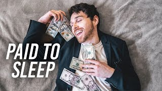 Why I get paid to Sleep - INVESTING with Robinhood (Dividends)