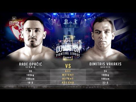 CFL- Rade Opacic vs Dimitris Vakakis HD