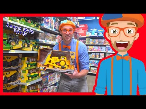 Educational Toy Videos for Children with Blippi – 4K Toy Store and More!