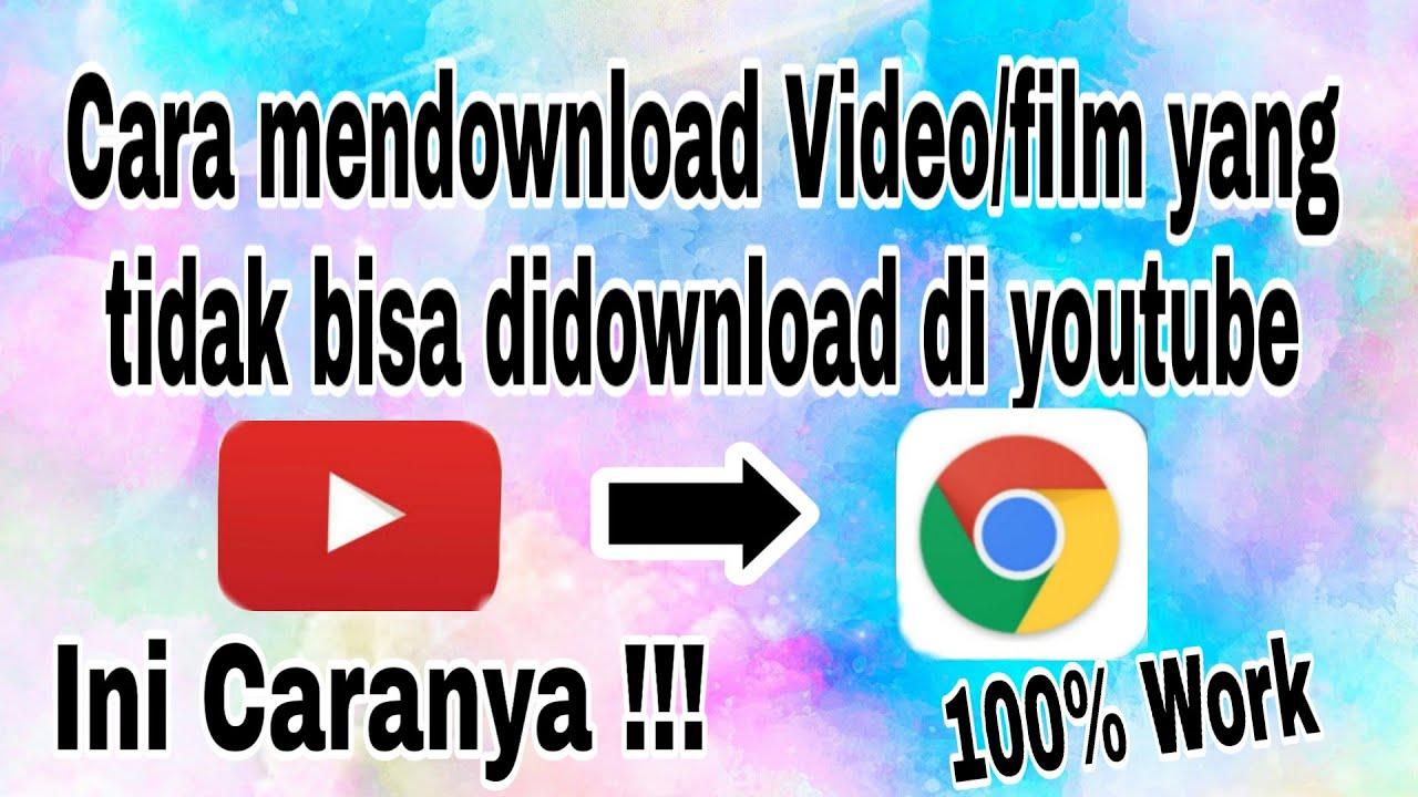 Cara download video / film di youtube || Video tutorial - YouTube