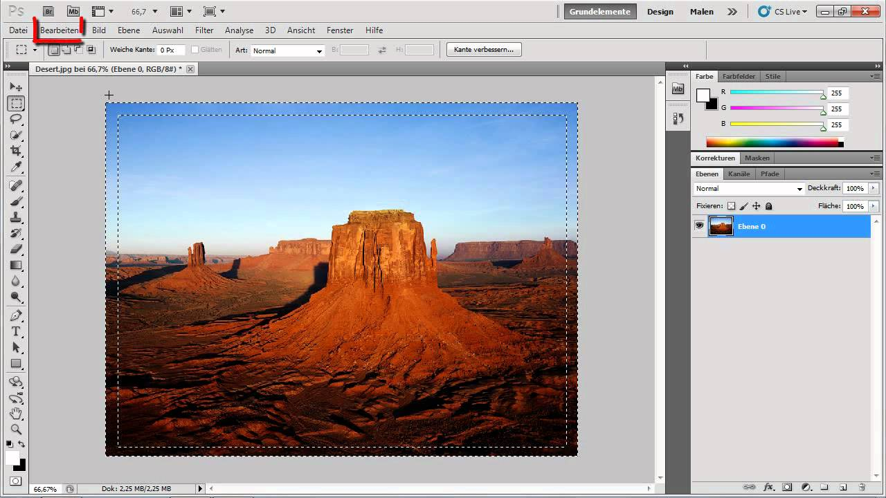 Photoshop CS5 - Einen plastisch wirkenden Rahmen erstellen - YouTube