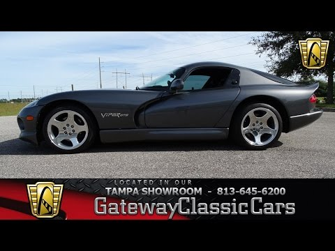 2002 Dodge Viper GTS Coupe - stock#724-TPA