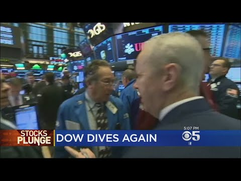 Markets In Correction Mode; Dow Drops Another 1,000 Points