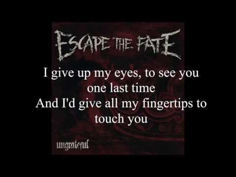 Escape The Fate -Picture Perfect +