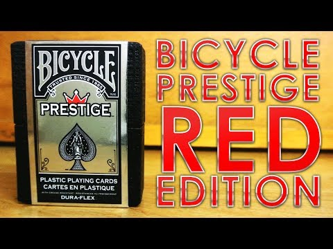 Deck Review - Bicycle Prestige Dura-Flex Red Edition [HD]