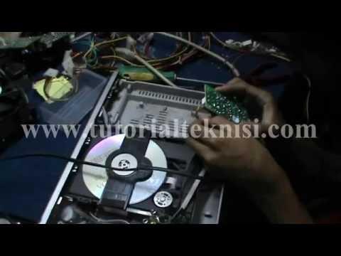 cara mengecek kerusakan dvd