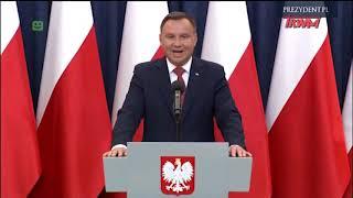 Prezydent RP Andrzej Duda: Wniosek w sprawie referendum konsultacyjnego ma dzisiaj trafić do Senatu