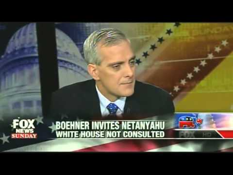 Denis McDonough Refuses to Answer if Obama Is Angry over Netanyahu Invite by Congress