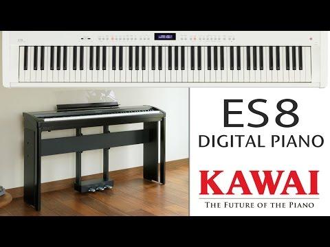 KAWAI ES8 Digital Piano DEMO - ENGLISH