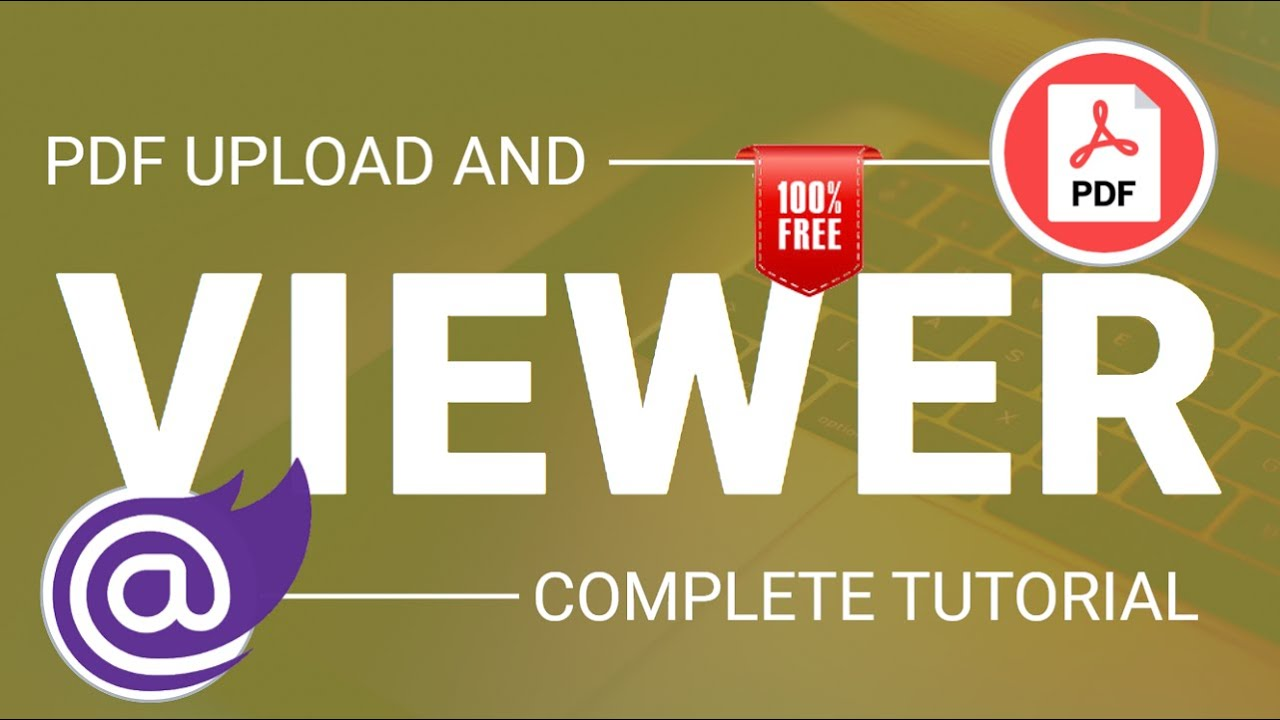 Blazor : PDF Viewer    PDF Upload    100% Free