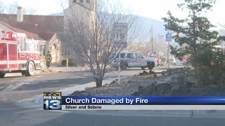 Fire crews respond to church fire in southeast Albuquerque