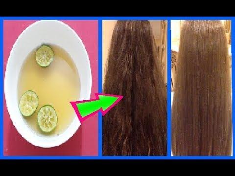 Lấy bia và chanh làm thế này tóc sẽ mọc thẳng mượt tự nhiên, nhanh dài giảm hư tổn nhanh chóng