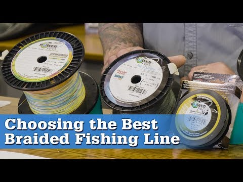Choosing The Best Braided Fishing Line