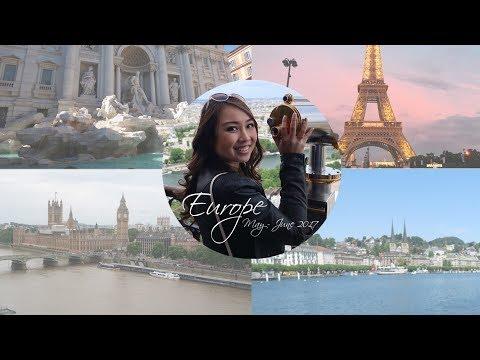 Travel Diary | Europe - May/June 2017