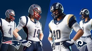 How To Get A Free Football Toy In Fortnite! NFL Outfits Are Coming Back - Two Super Bowl Styles!