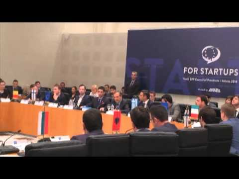 Αντώνης Σαμαράς - YEPP Council of Presidents - Αθήνα, 6 Δεκεμβρίου 2014 - Startups