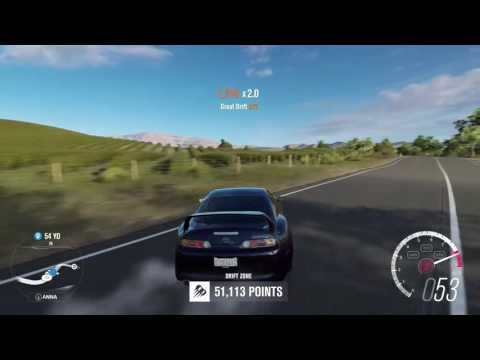 Forza Horizon 3 Mountain View Drift Zone 3 stars!!!