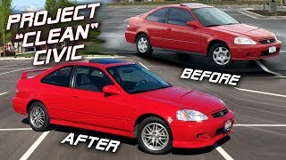 My $1500 Honda Civic Transformation | Before & After