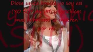 diosa unica bonita-karaoke (instrumental)