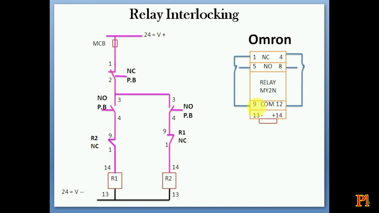 Diagram  24vdc Relay Wiring Diagram Download Wiring