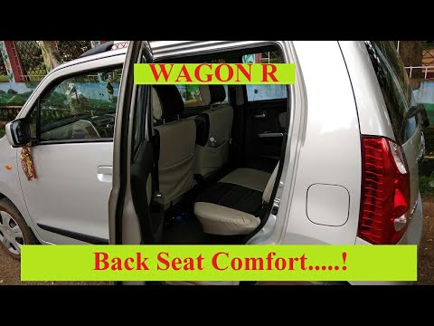 Back Seat Comfort Of Wagon R Youtube
