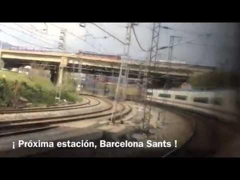 Viaje a bordo del tren AVE de Madrid a Barcelona