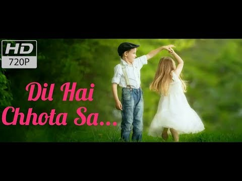 Dil Hai Chhota Sa (With Lyrics) | WhatsApp Status