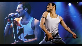 Queen - We Will Rock You (Ft. Bohemian Rhapsody movie clips) mp3