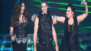 Johnny Ruffo & Salt n Pepa  - Push it - X Factor Australia 2011 Grand Final