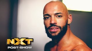 Ricochet reacts to thrilling Triple Threat Match triumph: NXT Post-Show, Oct. 10, 2018