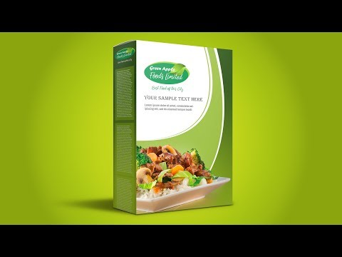 Food Packaging Design - Photoshop CC Tutorial