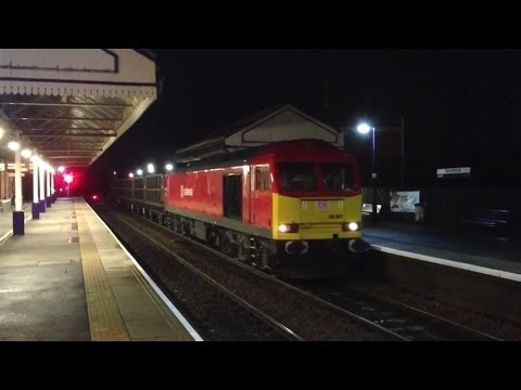 3 Nights Freight @ Scunthorpe 17/18/19th Nov 2013 Classes 60/66/144