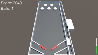 Unity 3D - Test Pinball Table