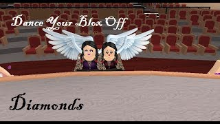 Roblox-Dance Your Blox Off-Diamonds-Modern-Duo With Fab