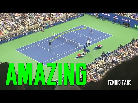 Roger Federer vs Grigor Dimitrov AMAZING POINT - 2019 (HD)